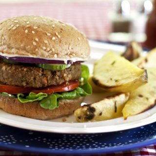 Hearty Vegan Burgers: Nutty Veggie Burgers (vegan, gluten-free, soy-free)
