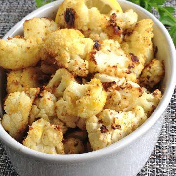 Almond Roasted Cauliflower