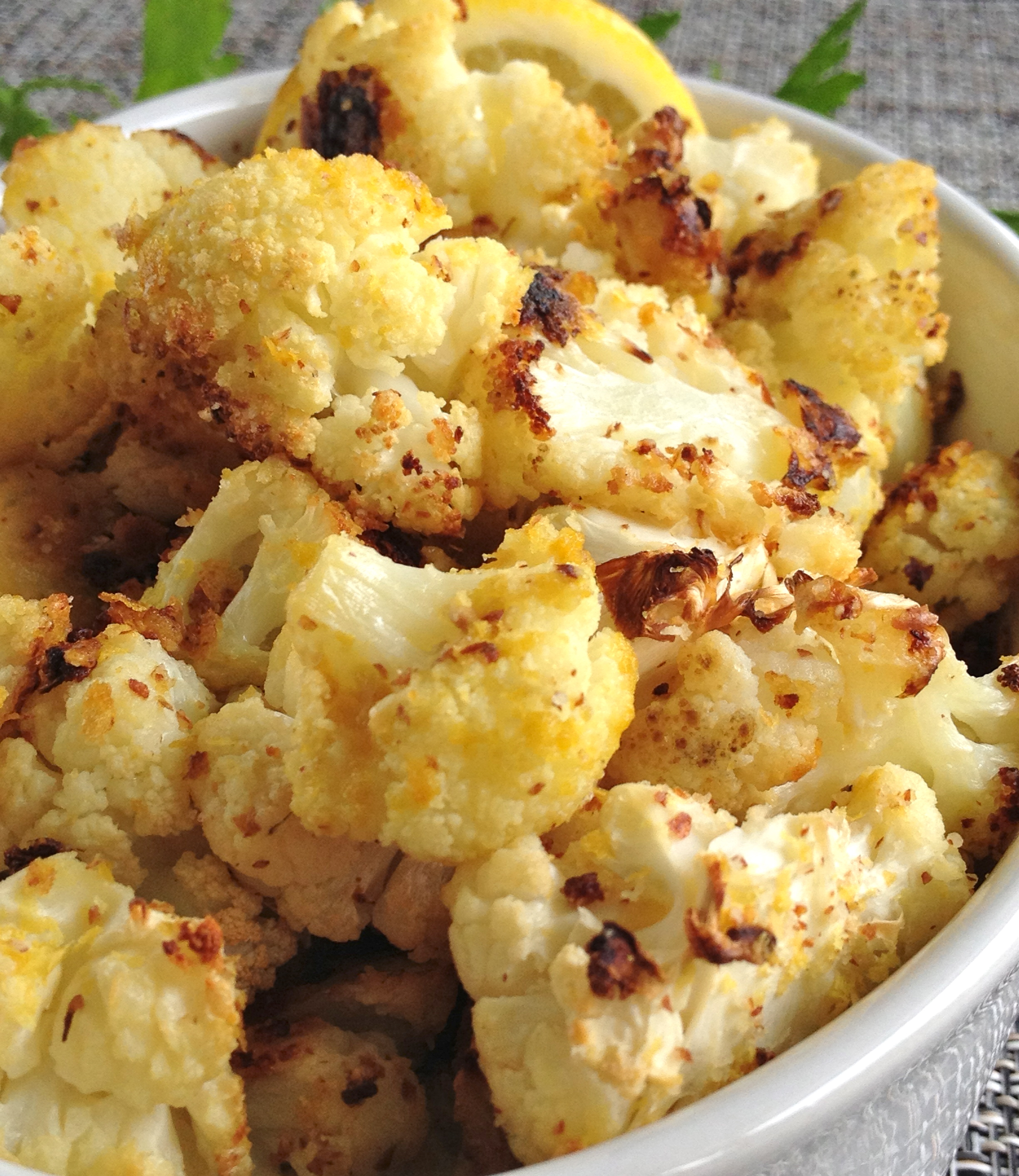 Almond-Roasted Cauliflower (and 'evolving' taste buds ...