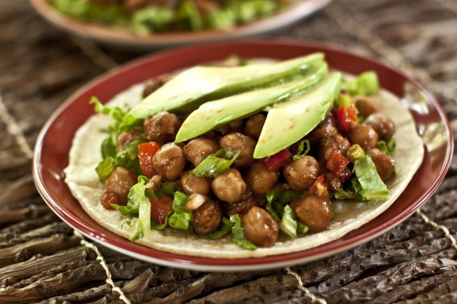 Jerk Chickpeas #vegan www.plantpoweredkitchen.com