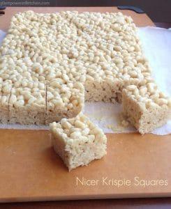 Nicer Krispie Squares