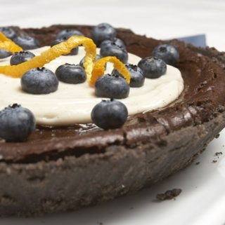 Chocolate Pumpkin Pie from eat, drink & be vegan