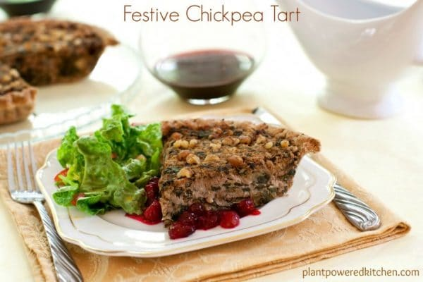 Vegan Holiday Recipes to Impress | vegan chickpea tart | vegan chickpea recipes | chickpea recipe ideas | vegan thanksgiving recipes | vegan holiday dishes || Plant Powered Kitchen #veganthanksgiving