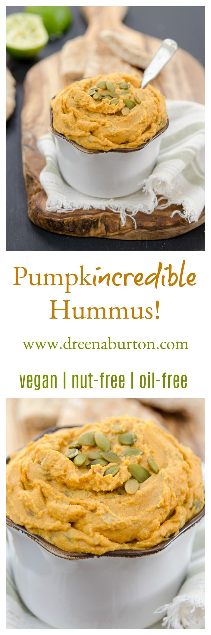 PumpkINCREDIBLE Hummus!