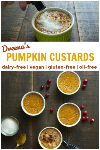 pin for Pumpkin Custards