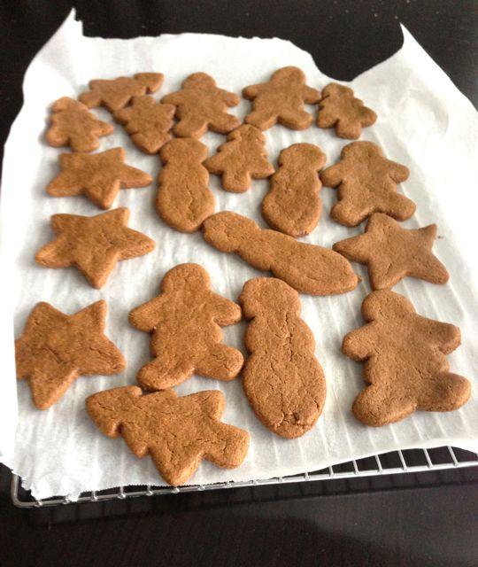 Natural Gingerbread Folks And Vegan Christmas Cookies Oil Free And