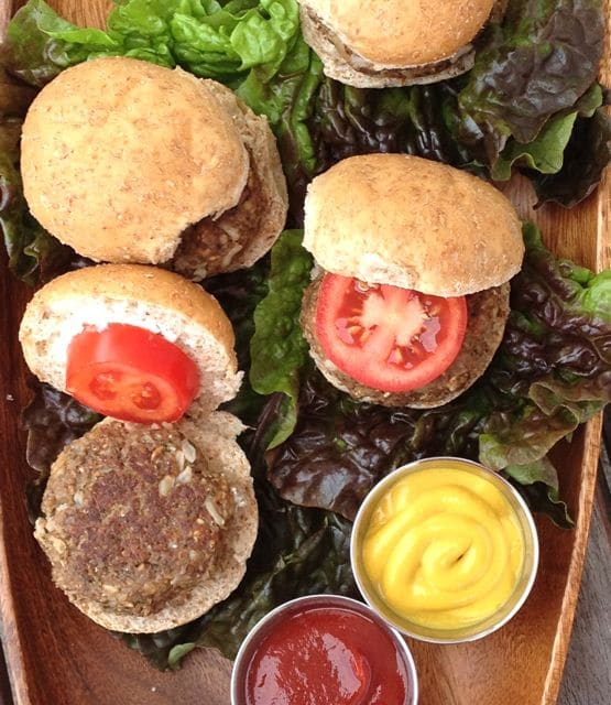 mushroompecanburgers