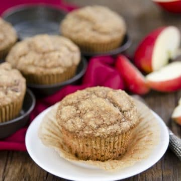 Apple Hemp Muffins