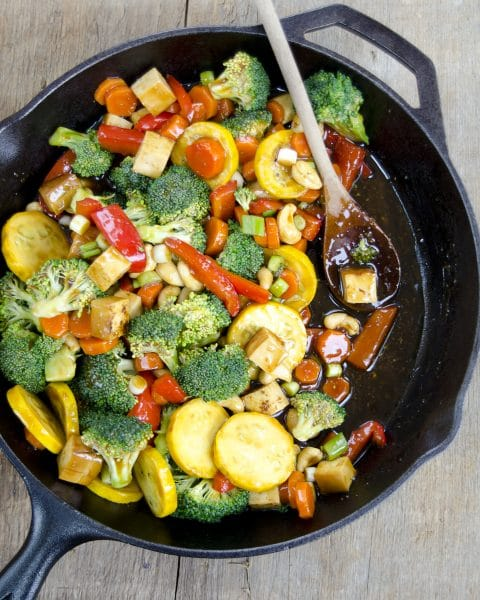 Vegetable Teriyaki Stir-Fry