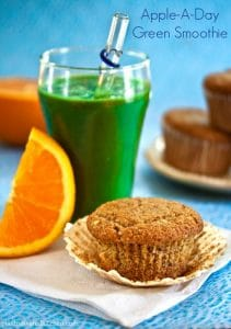 Apple-A-Day Green Smoothie from Dr