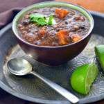Black Bean Soup with Sweet Potatoes www.plantpoweredkitchen.com