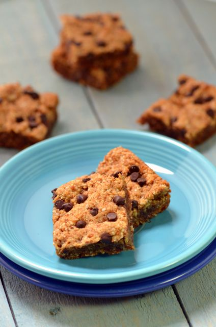 Sticky Almond Blondies from the Plant-Powered 15 ebook