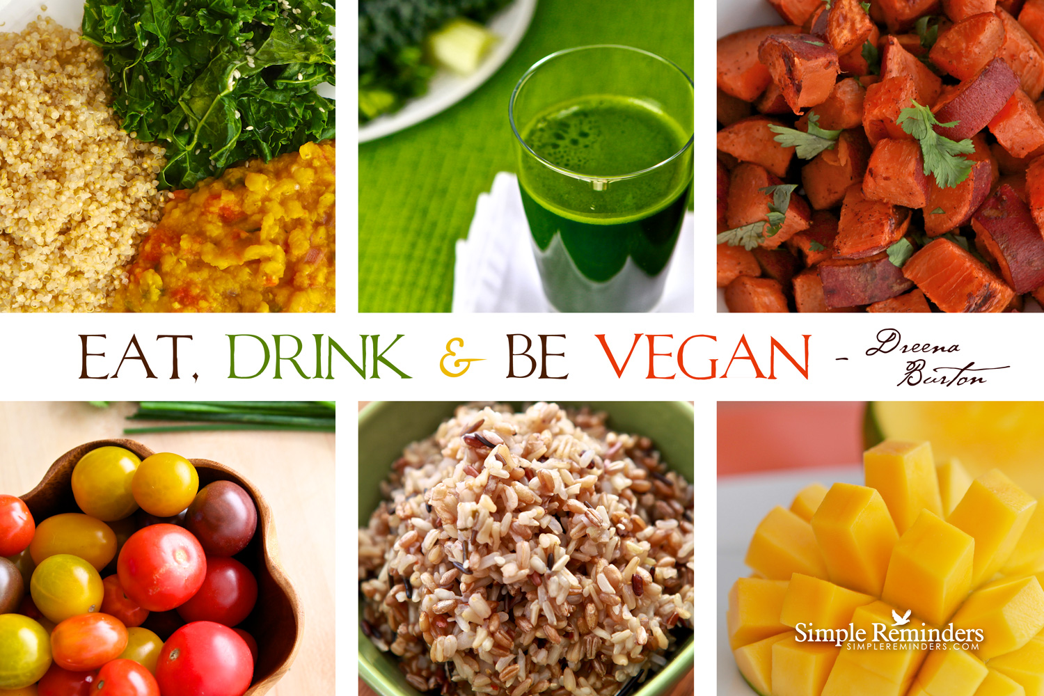 eat, drink, & BE vegan!