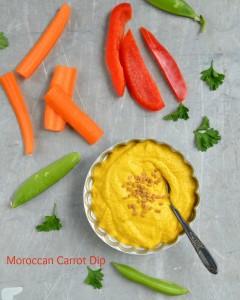 Moroccan Carrot Dip from Let Them Eat Vegan