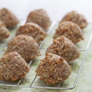 Coconut Macaroons: Ricki Heller's Naturally Sweet & Gluten-Free Cookbook
