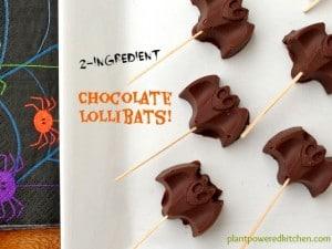 Chocolate Lollibats by Dreena Burton #vegan #glutenfree #dairyfree