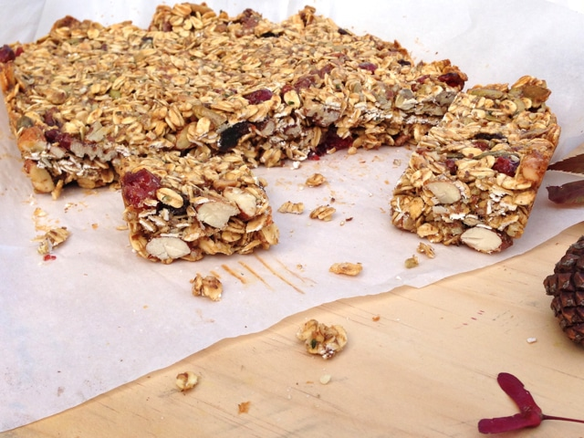 Momo Granola Bars from No Meat Athlete