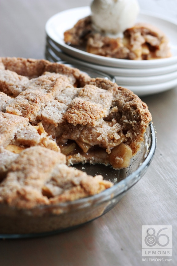 Gluten-Free Apple Pie from Let Them Eat Vegan