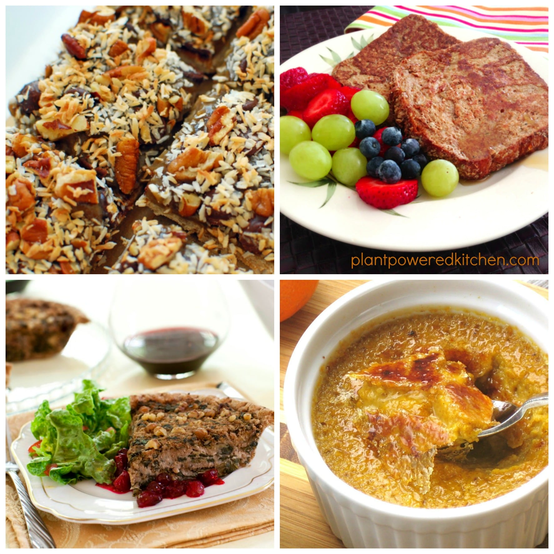 Vegan Thanksgiving Recipes from Brunch to Dinner to Dessert!