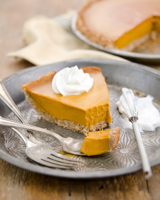 The GREAT Vegan Pumpkin Pie!