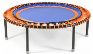 Bellicon Rebounder - with blue mat and orange bungee cords