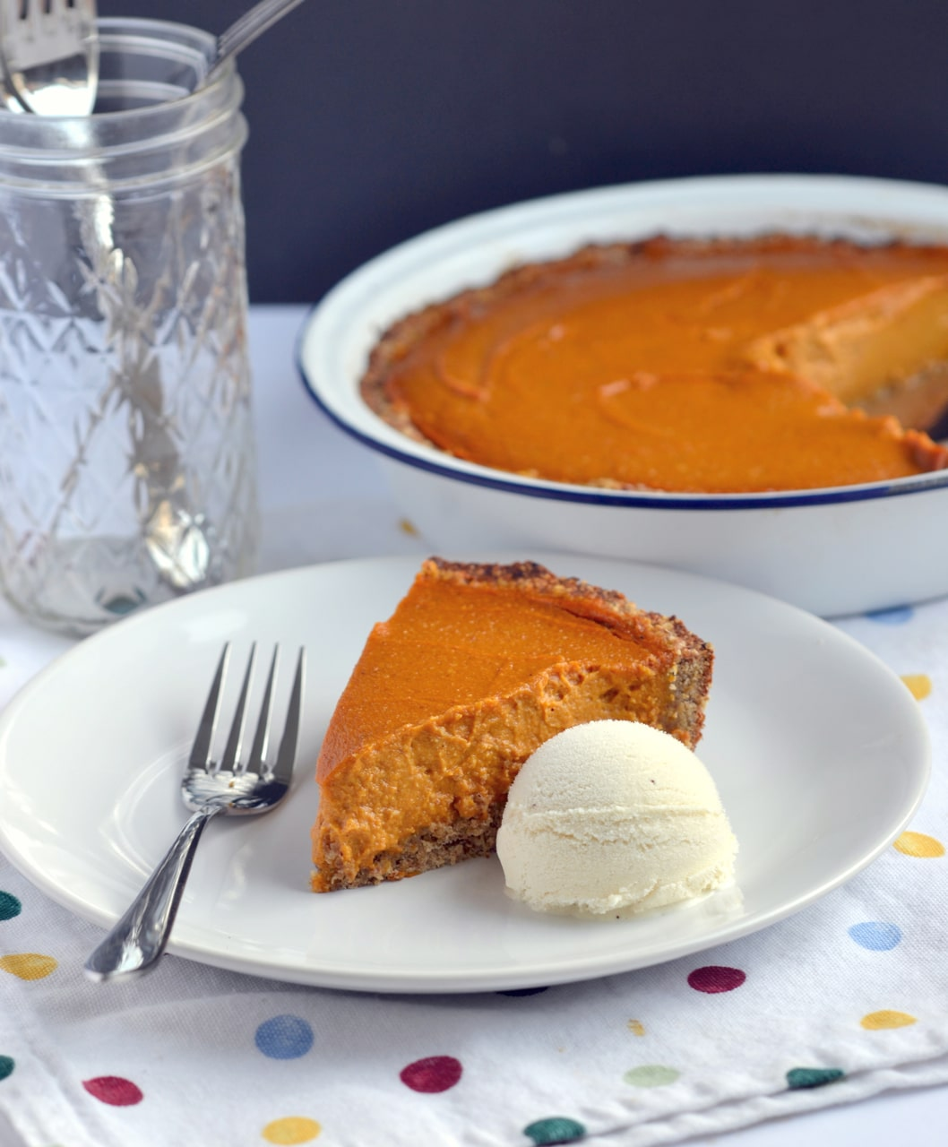 The Great Pumpkin Pie! by Dreena Burton, plant-powered kitchen