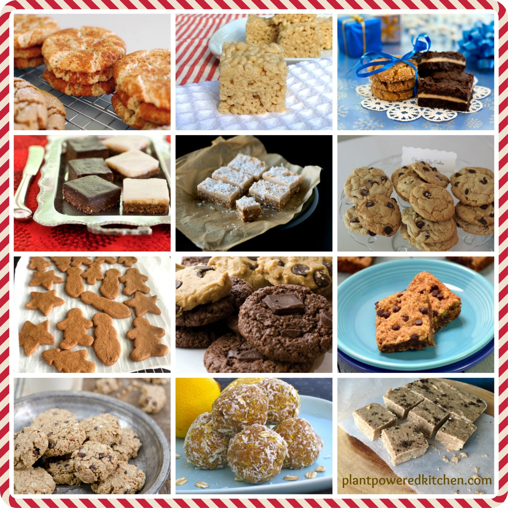 The 12 vegan cookies of Christmas! by Dreena Burton, Plant-Powered Kitchen