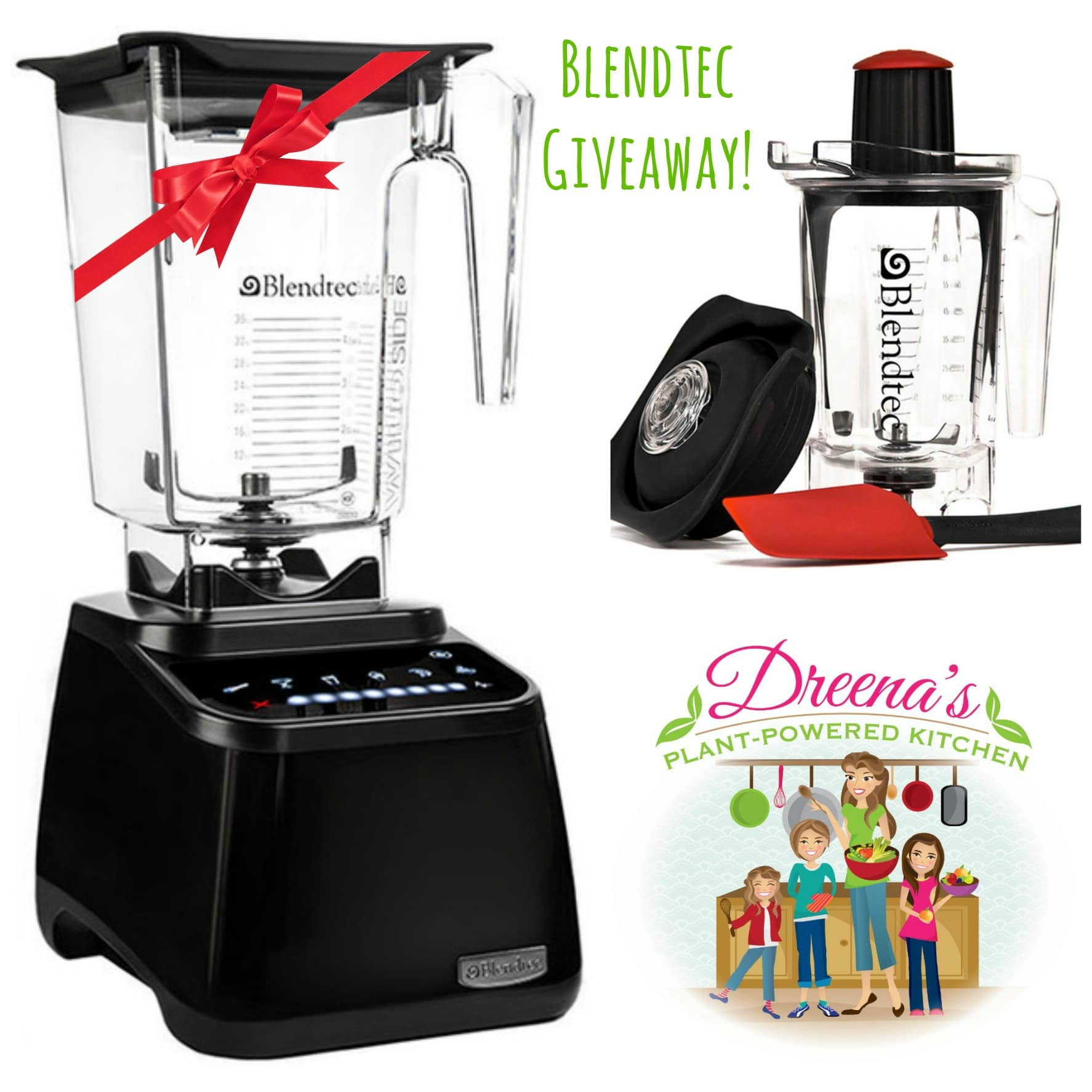 Blendtec Giveaway, Plant-Powered Kitchen