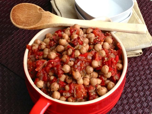Chickpea Ratatouille, by Dreena Burton, Plant-Powered Kitchen