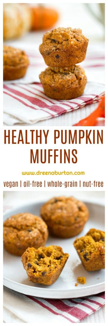 Healthy Vegan Pumpkin Muffins!
