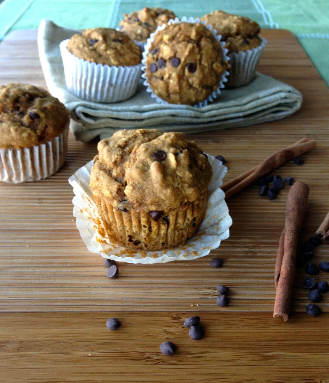 Pumpkin Oat Muffins by Dreena Burton, Plant-Powered Kitchen