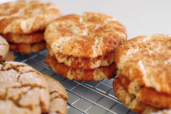 Snifferdoodles (aka Snickerdoodles) Vegan Christmas Cookies