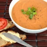 Tomato Lentil Soup with Cumin and Fresh Dill
