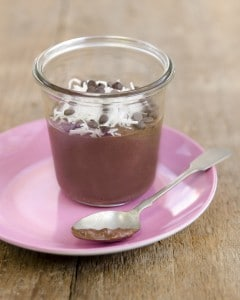 """""""Instant"""" Chocolate Chia Pudding"""