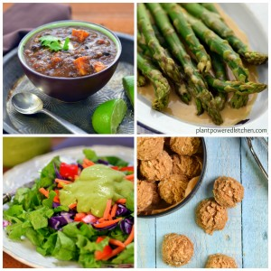recipes from the Plant-Powered 15 ebook by Dreena Burton