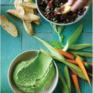 Incredibly Edible Edamame Dip: Recipe and Review of The Blender Girl Cookbook!