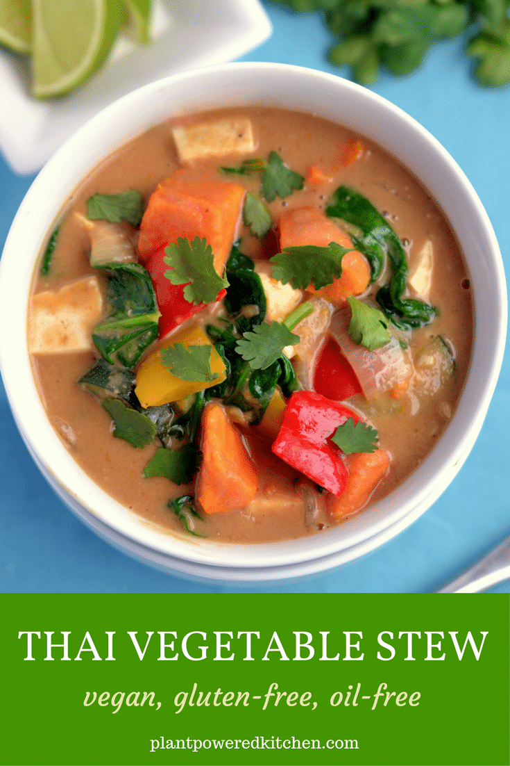 Thai Vegetable Stew from plantpoweredkitchen.com by Dreena Burton #vegan