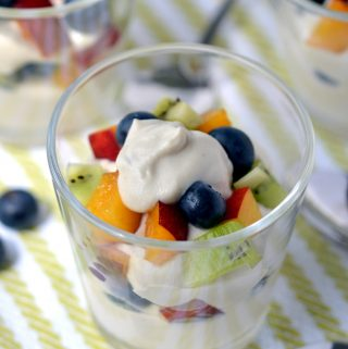 Vanilla Cashew Yogurt - from Dreena Burton, plant-poweredkitchen -#vegan #dairyfree #glutenfree #soyfree