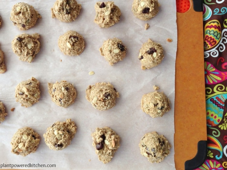 Power Cookies, by Dreena Burton, plant-powered kitchen #vegan #glutenfree #nutfree #oilfree