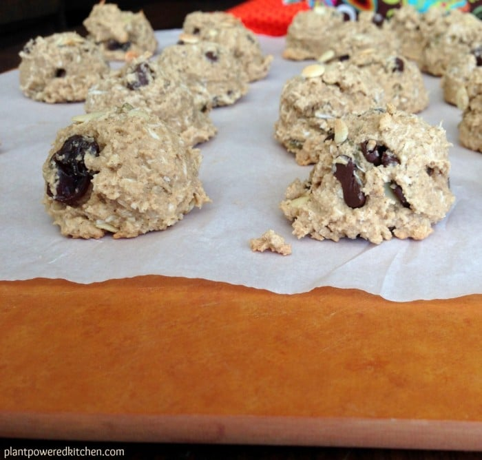 Power Cookies, by Dreena Burton, plant-powered kitchen #vegan #glutenfree #nutfree #oilfree