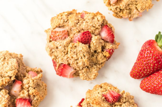 Berry Scuffins on Parchment