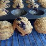 BF Blueberry Muffins by Dreena Burton, Plant-Powered Kitchen