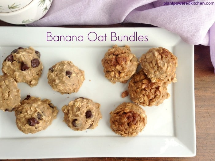 Banana Oat Bundles by Dreena Burton, Plant-Powered Kitchen #vegan #glutenfree #oilfree