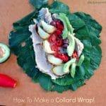 How To Make a Collard Wrap by Dreena Burton, Plant-Powered Kitchen, #vegan #glutenfree