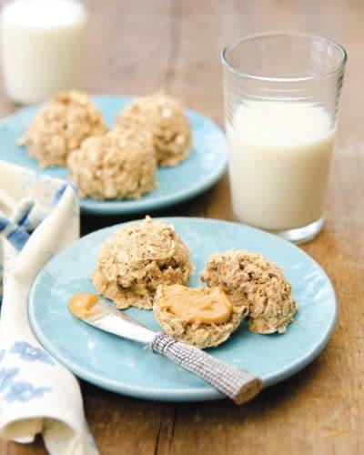 Oatmeal Banana Bites - Healthy Vegan Muffins