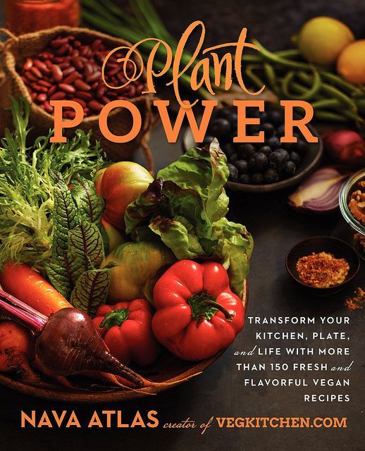 Plant-Power cookbook by Nava Atlas