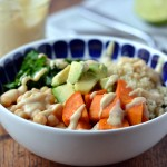 Maple-Chipotle Chickpea Dressing by Dreena Burton #vegan #dairyfree #oilfree