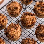 Cinnamon Bun Muffins cooling