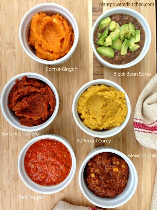 Gourmet Creations dips and spreads #vegan #glutenfree #nutfree