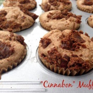 """""""Cinnabon Muffins"""" by Dreena Burton, Plant-Powered Kitchen #vegan #wholefoods"""
